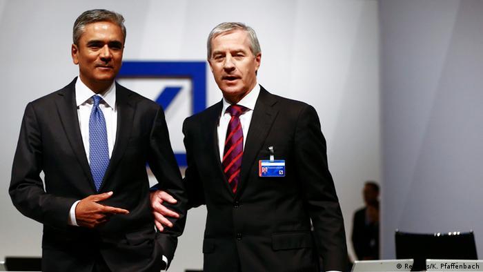 Deutsche Bank Co-Chefs Anshu Jain und Jürgen Fitschen (Foto: Reuters)