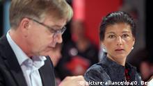 Deutschland Bundesparteitag Die Linke Bartsch und Wagenknecht