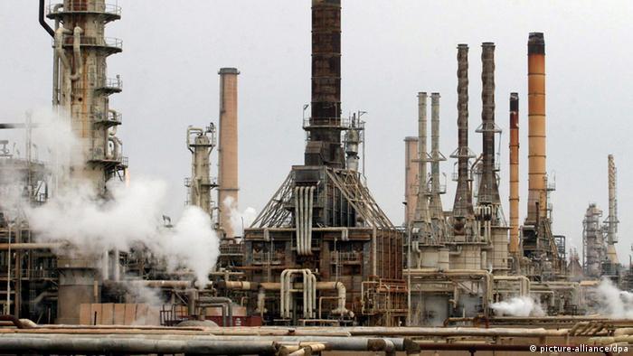 Irak Ölraffinerie in Baidschi