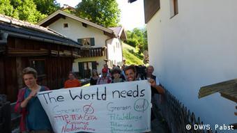 G7 Gipfel Schloss Elmau Proteste
