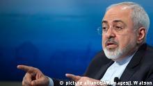 El ministro de Exteriores de Irán, Mohammad Yavad Zarif.