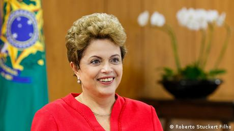 DW Interview mit der brasilianischen Präsidentin Dilma Rousseff