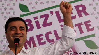 Selahattin Demirtas HDP pro kurdische Linkspartei