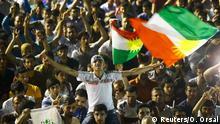 Anhänger der HDP pro kurdische Linkspartei Diyarbakir Türkei