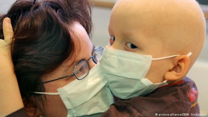 Krebskranke Kinder im Krankenhaus