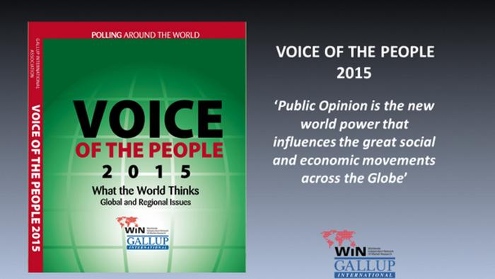Buchcover Voice of the People 2015