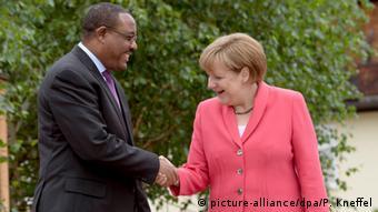 G7 Gipfel Schloss Elmau Outreach Konferenz Merkel und Hailemariam Desalegn