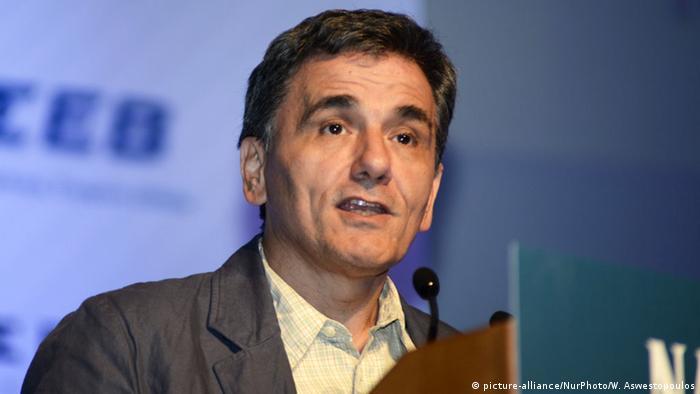 Griechischer Politiker Euclid Tsakalotos