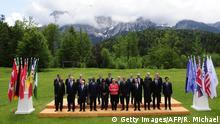 G7 Gipfel Schloss Elmau Outreach Konferenz Gruppenfoto