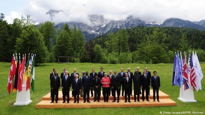 Минулорічний саміт Великої сімки у Німеччині