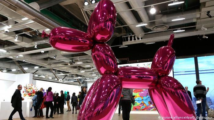 Der Baloon Dog von Jeff Koons