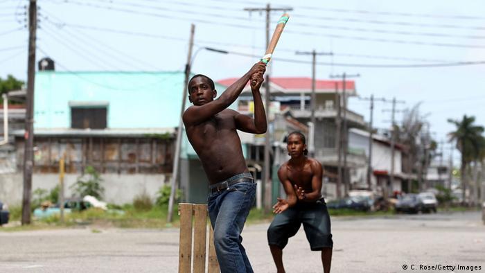 Straßenszene in Georgetown, Guyana