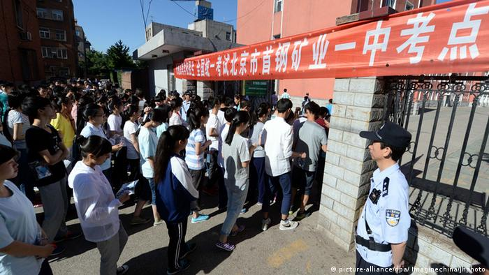 China Studenten in Peking