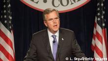 Jeb Bush, potentieller US-Präsidentschaftskandidat der Republikaner