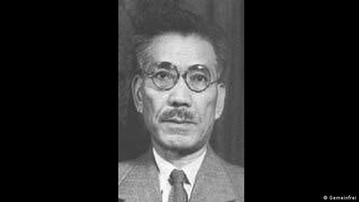 Japan Kriegsverbrecher Toshio Shiratori