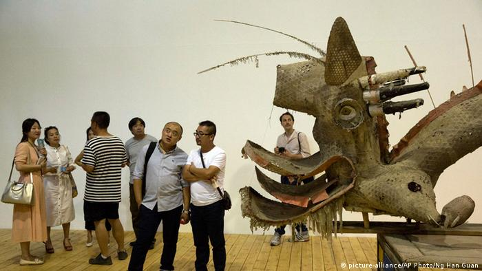 Exhibition of Ai Weiwei in Beijing