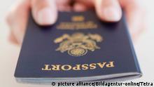 Amerikanischer Reisepass (Symbolbild)
