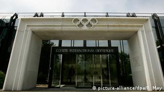 Schweiz Lausanne IOC Zentrale des Internationalen Olympischen Komittees (picture-alliance/dpa/F. May)