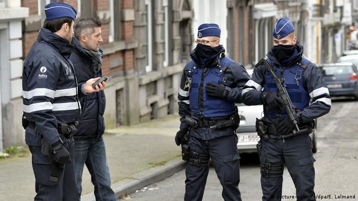 Belgijska policija u Verviersu