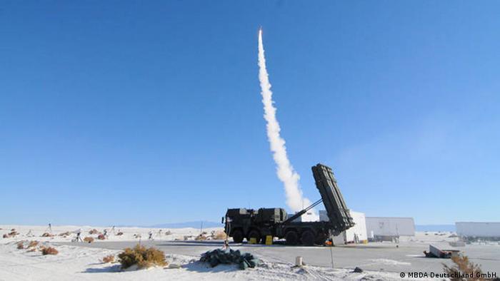 MEADS Raketen System (MBDA Deutschland GmbH)