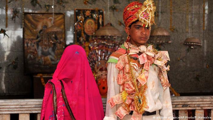 Bildergalerie Kinderheirat in Südasien