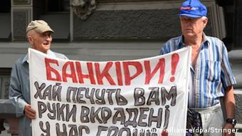 Protest gegen Korruption in Kiew - Foto: picture-alliance/dpa/Stringer