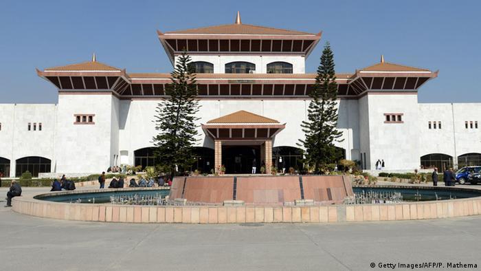 Nepal Parlamentsgebäude in Kathmandu (Getty Images/AFP/P. Mathema)
