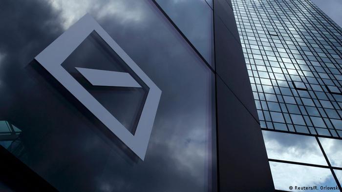 Deutschland Deutsche Bank Hauptquartier in Frankfurt