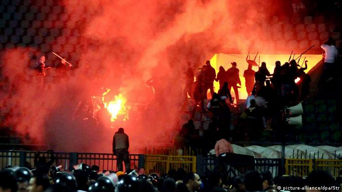Seventy two people lost their lives in the stadium catastrophe at Port Said