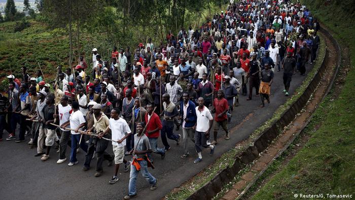 Proteste gegen Präsident Nkurunziza in Burundi (Foto: rtr)