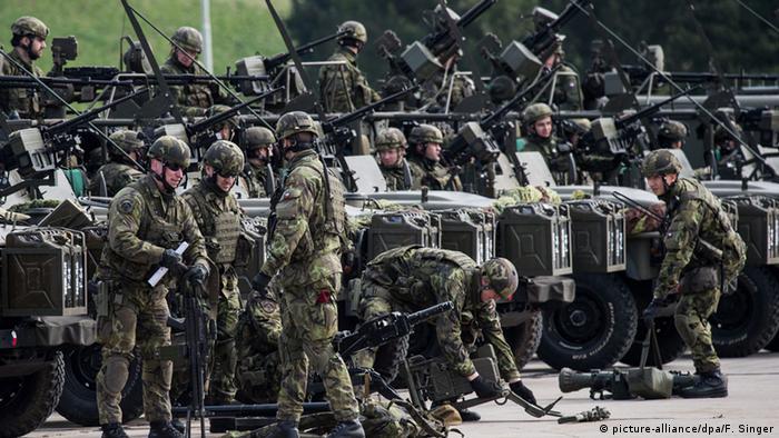 Военнослужащие чешской армии