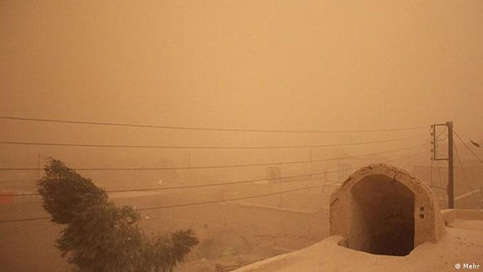 Iran Sturm in der Provinz Sistan