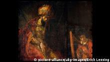 Rembrandt-Gemälde Saul und David