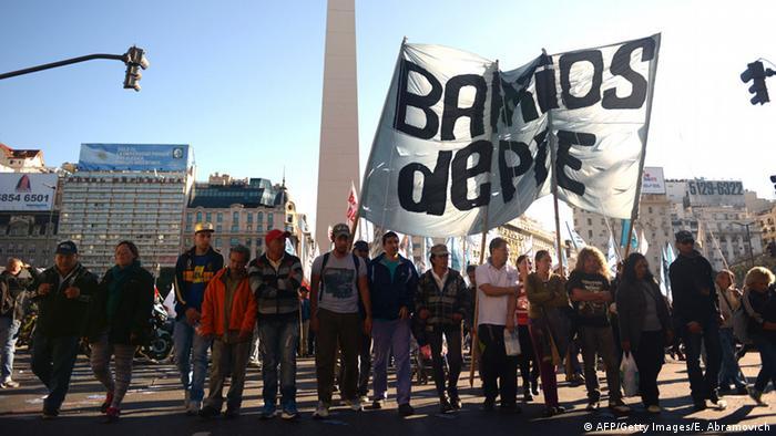 Generalstreik in Argentinien
