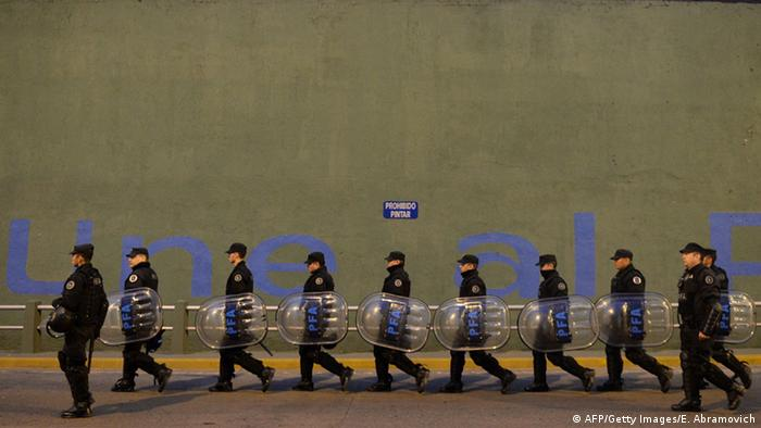 Generalstreik in Argentinien (AFP/Getty Images/E. Abramovich)