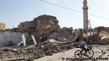 Irak Einnahme der Stadt Mossul durch die IS Terrormiliz