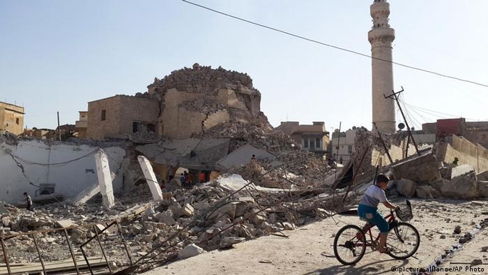 Мосул, зруйнований після наступу Ісламської держави