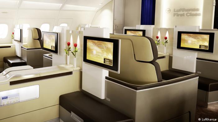 Fluggesellschaften First class ist wieder in