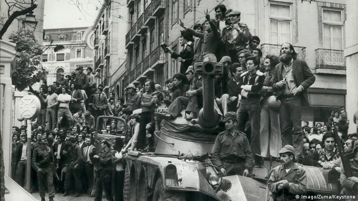 Portugal Lissabon 1974 Nelkenrevolution Soldaten