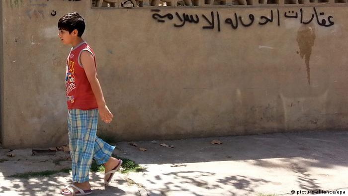 Bildergalerie ein Jahr Islamischer Staat in Mossul (picture-alliance/epa)