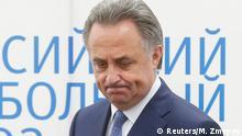 Russland Vitaly Mutko in Moskau