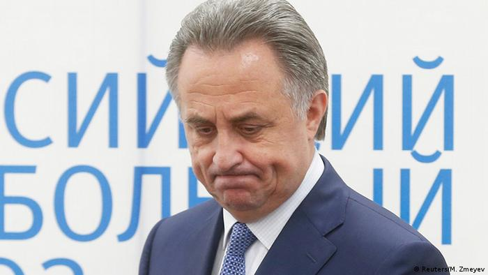 Russian Sports Minister Vitaly Mutko attends a news conference in Samara, Russia, June 10, 2015 (Photo: REUTERS/Maxim Zmeyev)
