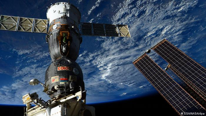 Internationale Raumstation ISS Sojus TMA-15M