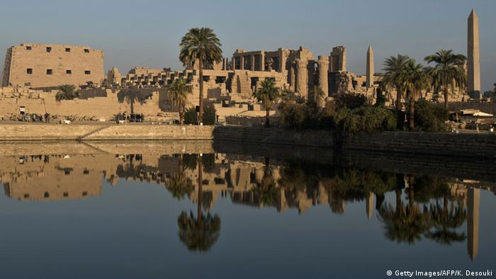 Ägypten Karnak-Tempel bei Luxor