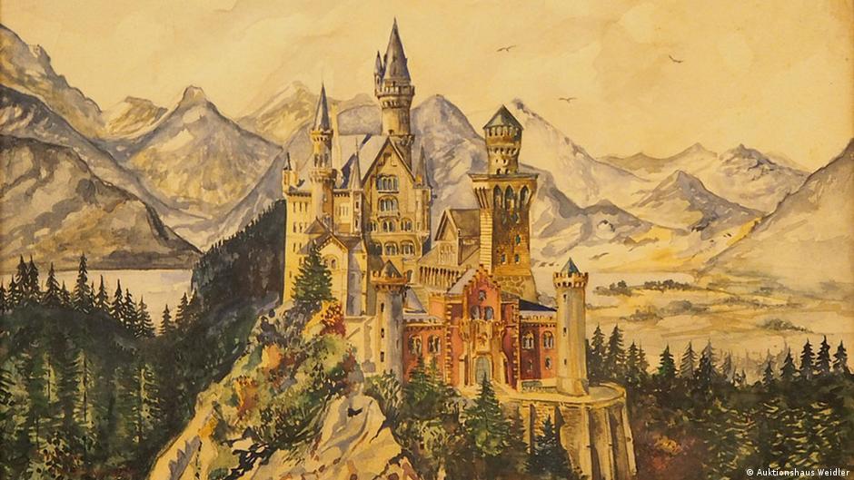 Auktionshaus Weidler Versteigerung Bilder Signatur A. Hitler