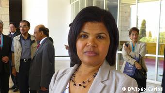 Sara Duarte Lopes - kapverdische Ministerin für Meereswirtschaft