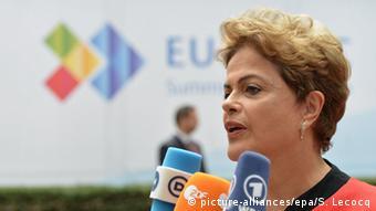 Brüssel Celac Gipfel Dilma Rousseff