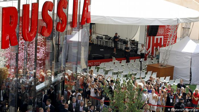 Russlands Pavillion bei Expo 2015 in Mailand (Foto: REUTERS)