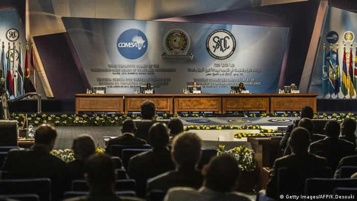 Egypt Sharm El-Scheich COMESA EAC SADC summit to sign 26-nation TFTA free trade agreement