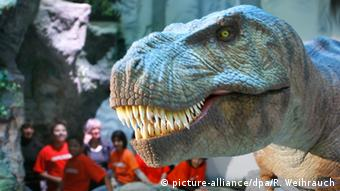 T-Rex at the Odysseum in Cologne, Copyright: picture-alliance/dpa/R. Weihrauch